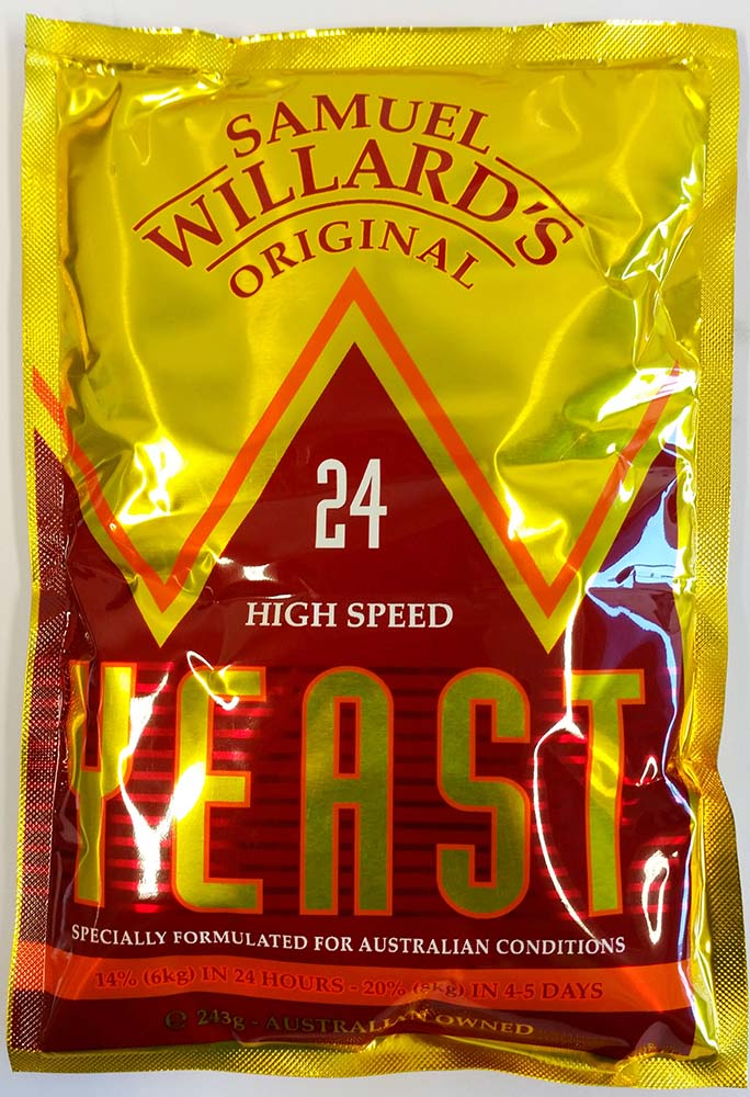 willards 24 yeast