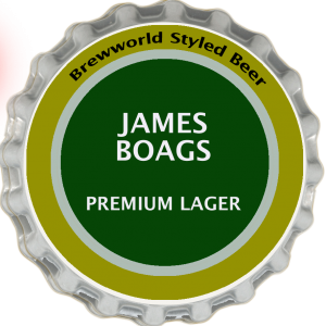 James Boags Lager Style