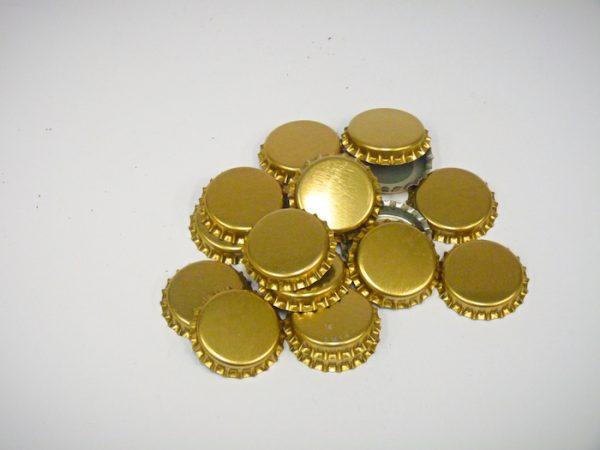 Crown Seals Gold (100Pk)