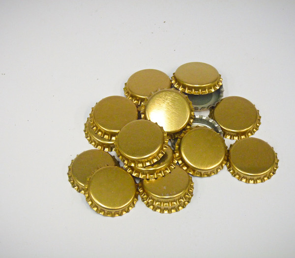 Crown Seals Gold (100Pk)