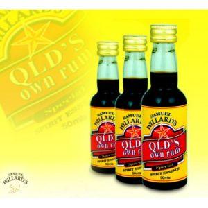Willards G/Star Qld's Own Rum