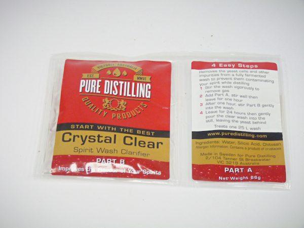Crystal Clear Spirit Wash Clarifier