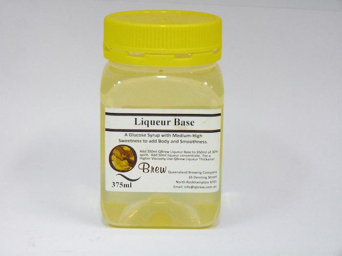 Liqueur Base 375ml