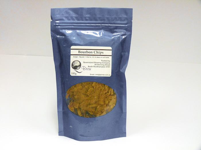 QBrew Bourbon Chips 100g