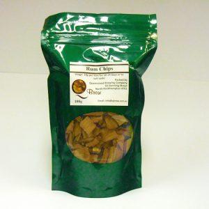 QBrew Rum Chips 100g