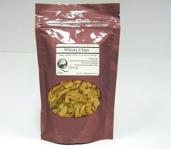 QBrew Whisky Chips 100g