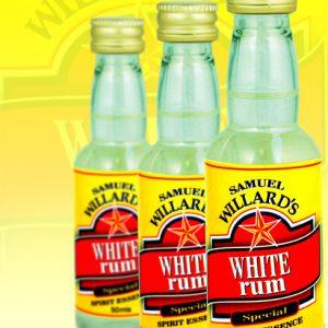 Willards G/Star Rum- White