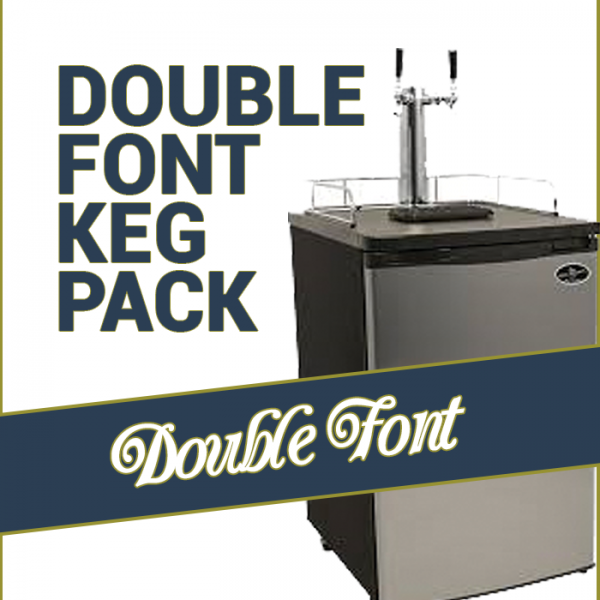 Kegging Double Font Pack