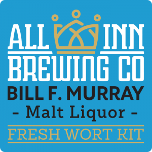 Bill F Murray -  Malt Lager Fresh Wort Kit