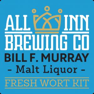 Bill F Murray -  Malt Lager Fresh Wort Kit