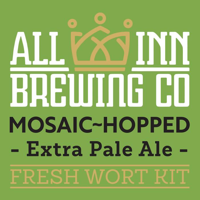 Single Hop Mosaic -  Pale Ale Fresh Wort Kit