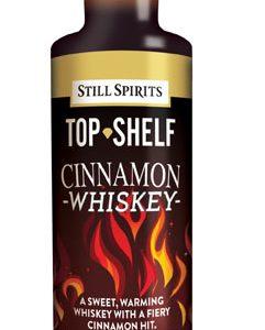 Top Shelf Cinnamon Whiskey