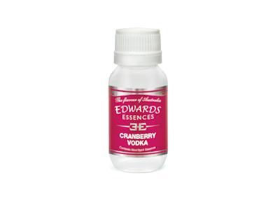 Edwards Essences Cranberry Vodka