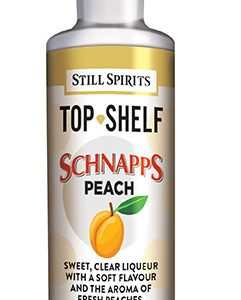 Top Shelf Peach Schnapps