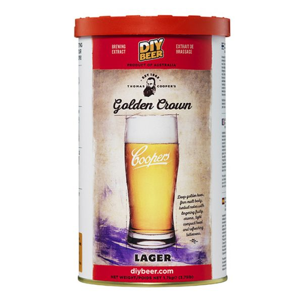 Thomas Coopers Golden Crown Lager