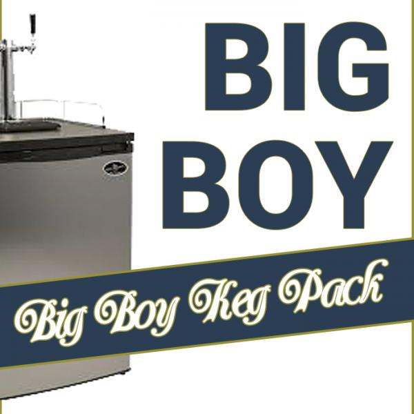 The Big Boy Keg Pack