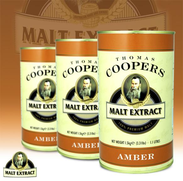 Coopers Amber Malt Extract