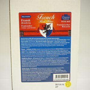 Chateau Vadeau French Red Wine Kit
