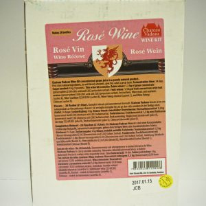 Chateau Vadeau French Rose Wine Kit