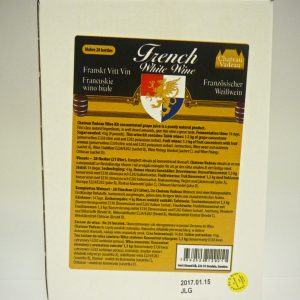 Chateau Vadeau French White Wine Kit