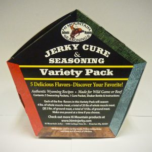 Jerky Seasonings Variety Pack 2 ( 5 seasons in one pack)