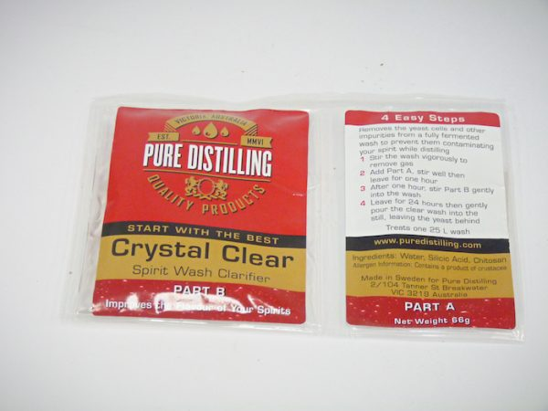 Crystal Clear Spirit Wash Clarifier