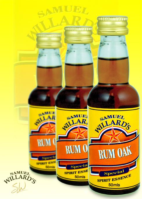 Willards G/Star Oak- Rum