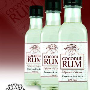 Willards PreMix Coconut Rum
