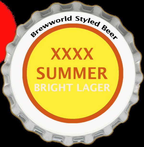 XXXX Summer Bright Ale Style