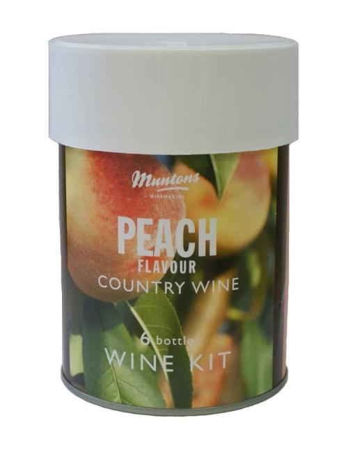 Muntons Peach Country Wine
