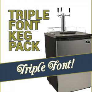 Kegging Triple Font Pack