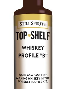"Still Spirits Whiskey Profile ""B"""