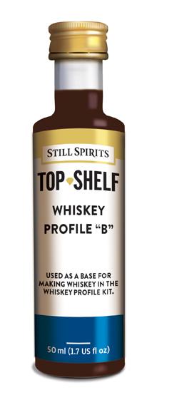"""Still Spirits Whiskey Profile """"B"""""""